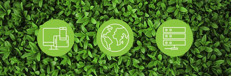 """Image illustrative de l'article """"Quels sont les impacts environnementaux du web ? """" du site Ogmios Développement"""