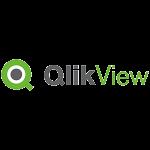 Logo partenaires Qlik View du site Ogmios Développement
